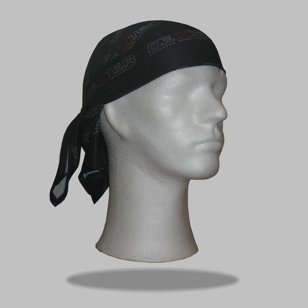 74d4074cf3f 030 Pirátský šátek DEXTER černý