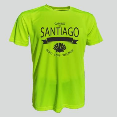 004 T-shirt ICON CAMINO 04 neon yellow      S