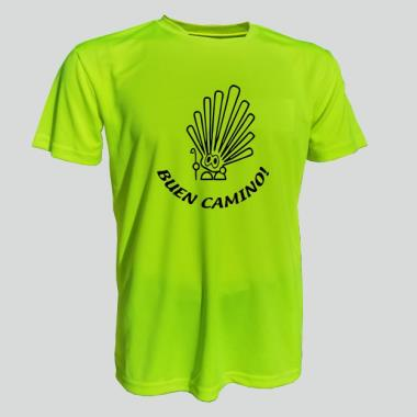 006 Tričko ICON CAMINO 06 neon yellow  XXL
