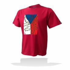 Sportovní oblečení v národních barvách České republiky  6ae3a4801a