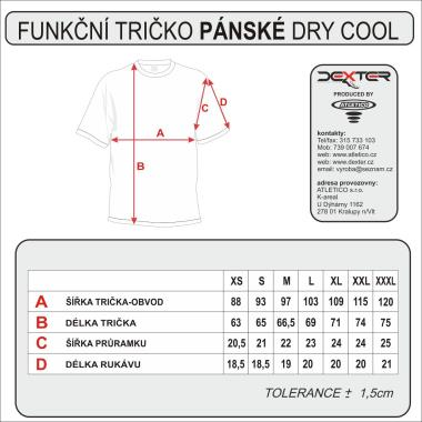 004 Tričko POLO DEXTER subli dry cool XL