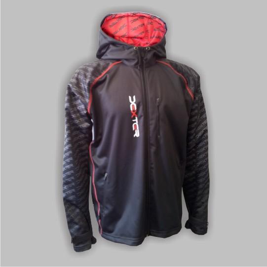 DEXTER - Softshellová bunda černá