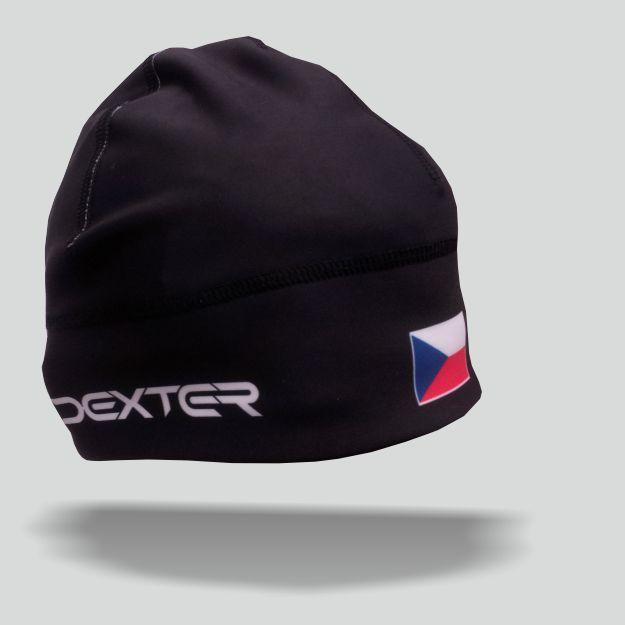 DEXTER - NK 079 Zimní čepice GAVA CZECH black junior