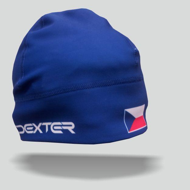 DEXTER - NK 079 Zimní čepice GAVA CZECH blue junior