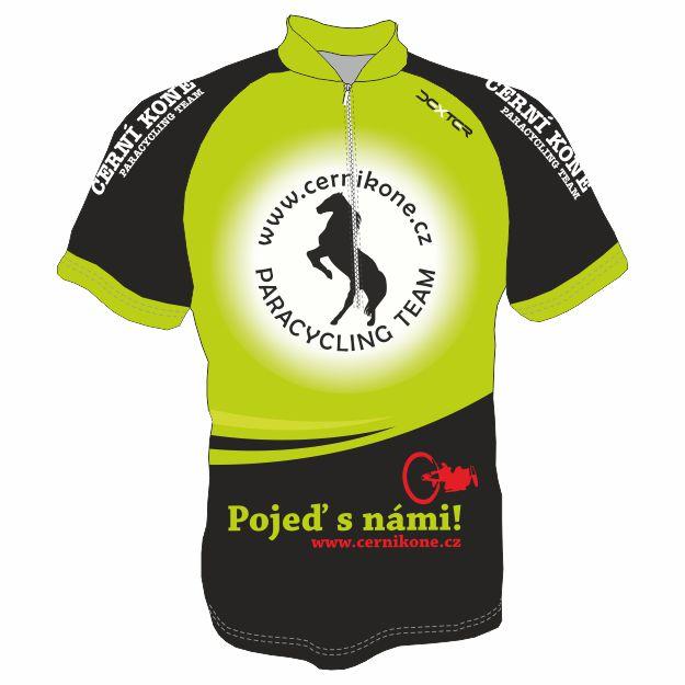 DEXTER - Cyklo dres ČERNÍ KONĚ MTB muži
