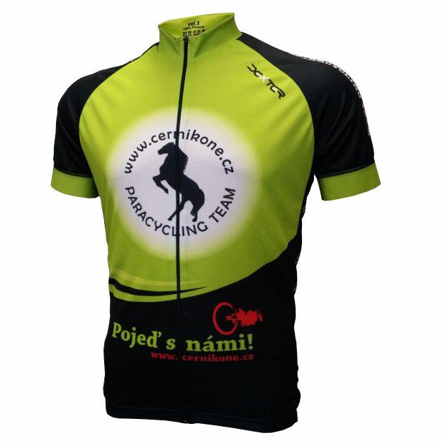 DEXTER - Cyklo dres ČERNÍ KONĚ RACE muži