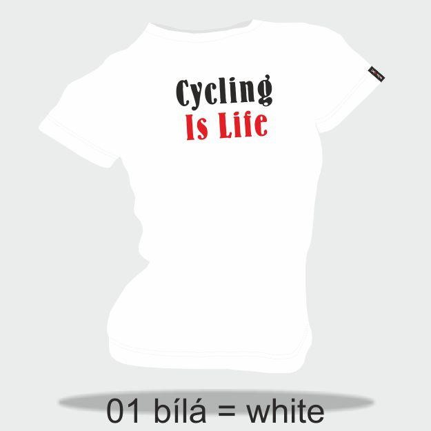 DEXTER - Tričko DEXTER CYCLING IS LIFE dámské S