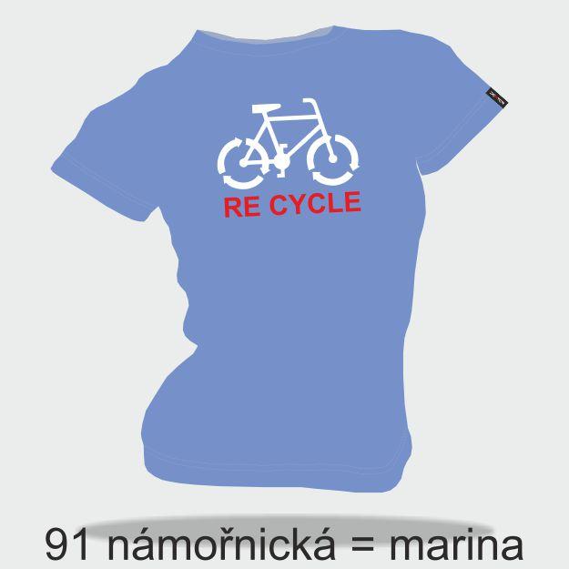 DEXTER - Tričko DEXTER RE CYCLE dámské S