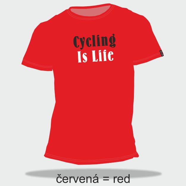 DEXTER - Tričko DEXTER CYCLING IS LIFE muži S